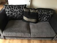 Sofa suite large 2 seater sofa and swivel cuddle chair