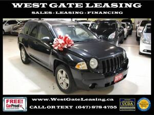 2010 Jeep Compass SPORT 4WD |SUNROOF | AUTO |