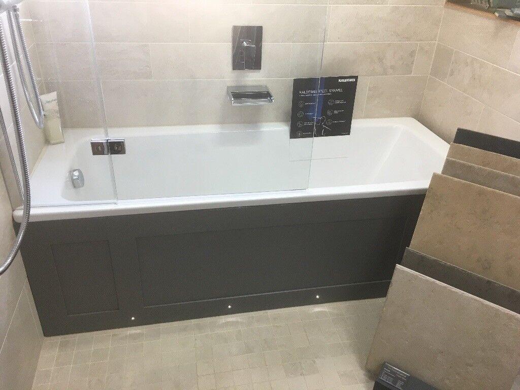 Ex-display bath, bath shower screen, bath panel and wall mounted ...