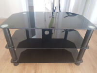 Tv stand, up to 42 inch tv/ 40kg weight, as new condition, £35 ono