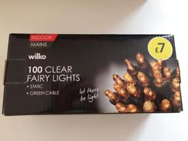 Brand New Wilko 100 Fairy Lights