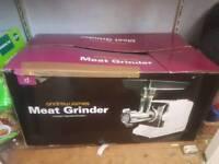 Meat grinder mincer