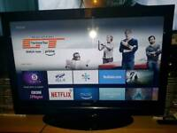 """📺DigiHome 32"""" LCD TV Television📺Built In DVD📺2 HDMI 1 USB📺FreeView HD📺"""
