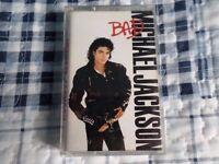 Michael Jackson BAD ALBUM original cassette tape