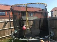 Jump into action with the Jump Power 12ft Trampoline