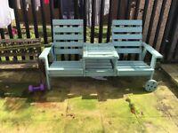 Reclyning love chair