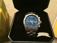 Authentic Breitling B-1 A78362 Multifunction Chronometre Super Quartz Watch