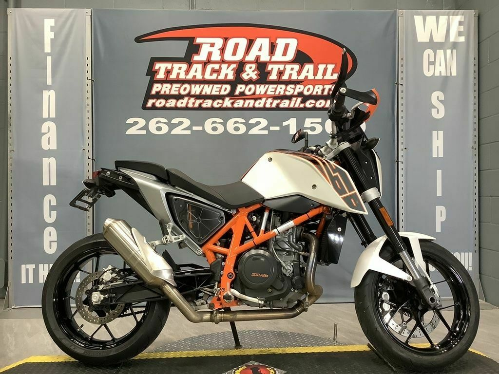 Picture of A 2014 KTM 690 Duke