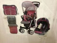 Brand new 3 in 1 travel system,