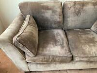 Sofa 3/2 seater and arm chair
