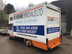 Luton van low loader removal van/ smiley engine. Rare turbo
