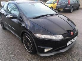 2007 57 Honda civic type s gt cdti (DIESEL 3 DOOR)