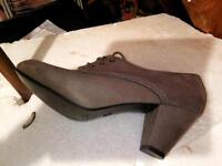 Shoes suede
