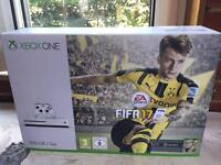 Xbox 1s 500gb boxed as new only used twice unwanted gift