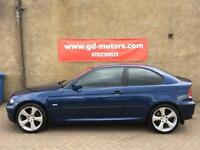 BMW 316 TI SE COMPACT (03) 1 YEAR MOT, TRADE IN TO CLEAR £995