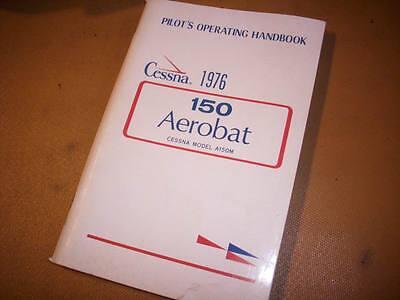 1976 Cessna 150 Aerobat   Pilot's Operating Handbook for A150M