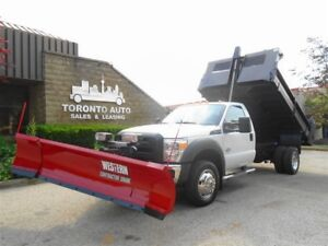 2012 Ford F-550 All Seasons Work Horse,4X4,Dump body,Plow,Salter