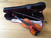 Full size Peasold 801 violin in excellent condition.