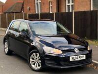 Volkswagen, GOLF, 1.6 TDI SE BLUEMOTION, MK7, Hatchback, 2014, Manual, 1598 (cc), 5 doors