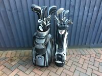 Two golf club sets