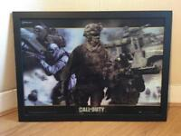 Call of Duty Hologram Picture Frame - VGC