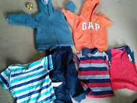 Baby boy clothes 9-12mth & 12-18 mths X2 Boxes