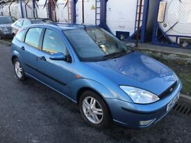 FORD FOCUS , 2003 REG , BRAND NEW CLUTCH AND BRAKES , SPARES OR REPAIRS AS NOT MOT