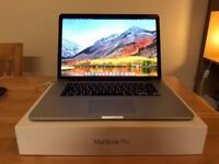 "Apple MacBook Pro 15"", Intel Core i7, 16GB RAM, 256GB 2015"