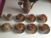 Genuine Samurai coffee set