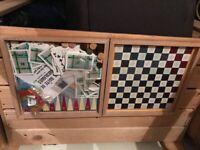Vintage wooden Jeu De L'Oie board game