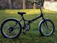 Folding commuter Bike