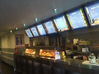 Fish chip shop for sale running business