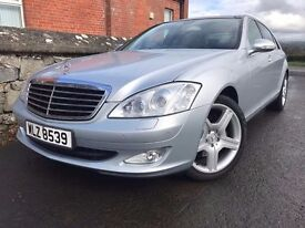 Mint low milage 2006 Mercedes S320 Cdi L auto.ONLY 72K,TRADE IN CONSIDERED, CREDIT CARDS ACCEPTED