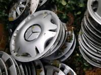 Mercedes wheel trims, vito citan a class e class