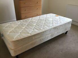 3ft bed base on castors