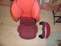 CYBEX SOLUTION Q2-FIX CAR SEAT - MARS RED