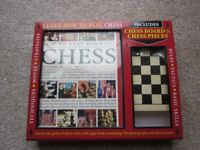 New in Box Chess Book, Board and Pieces