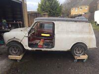 Classic mini van project