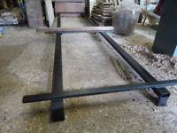 Gate-making jig in steel