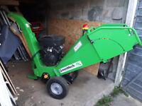 Used Greenmech wood chipper C100