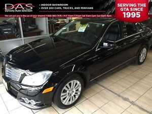 2012 Mercedes-Benz C-Class C250 4MATIC NAVIGATION/LEATHER/SUNROO