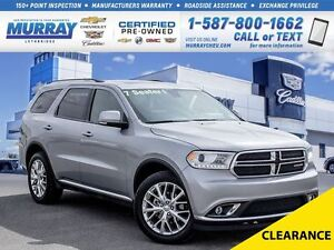 2016 Dodge Durango **7 Passenger!  Sunroof!**