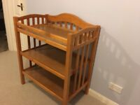 Mamma and Pappa's baby changing table. Good condition