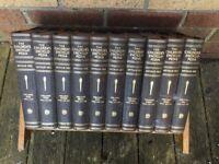 Children's Encyclopaedia (set of 10) Arthur Mee