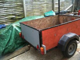 single axel trailer