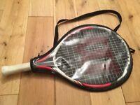 """Wilson junior 19"""" tennis rocket"""