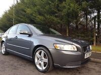 SEPTEMBER 2010 VOLVO S40 1.6 DIESEL DRIVe SE 4dr (start/stop) EXCELLENT CONDITION £20 ROADTAX