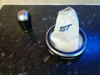 Ford Fiesta MK6 (Gear knob and cover)