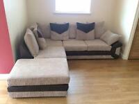 Dino Corner Sofa and swivel chair