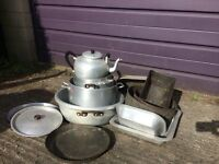 Catering pots and pans